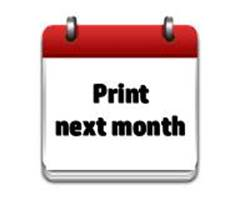 Printable Calendar Next Month